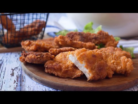 poulet-frit-à-l'américaine-très-facile-(fried-chicken),-kfc