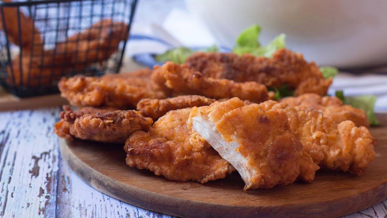 Poulet frit à l'américaine très facile (fried chicken),  Kfc