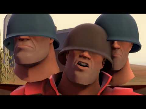 Meet the Soldier (and his Blu brother) [SFM]