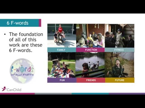 The F-words in Childhood Disability: A Call for ACTION