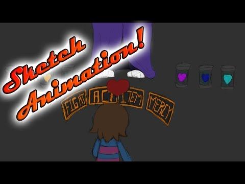 Sketch Animation - Asgore Neutral Battle