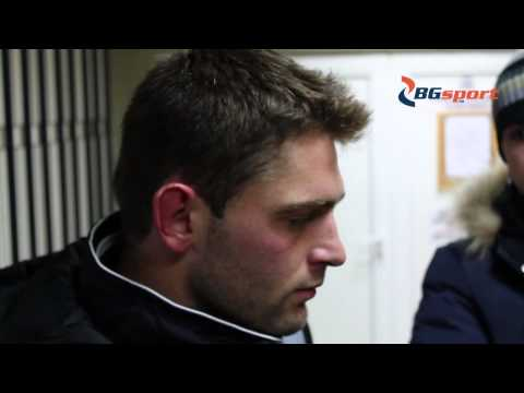 Dimo Atanasov speaking after the match PFC Slavia Sofia against PFC Litex Lovech 2013-12-07