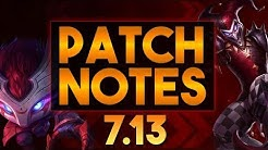 LoL Patch Notes 7.13 - AP Kennen Comeback! [Ger]