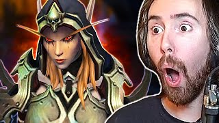SHADOWLANDS INTRO! Asmongold Amazed By Next WoW Expansion Starting Questline