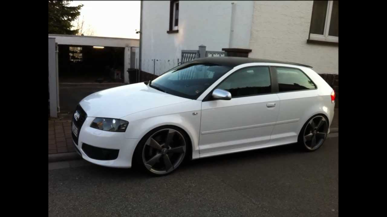 audi s3 the white pearl PART 2 - YouTube
