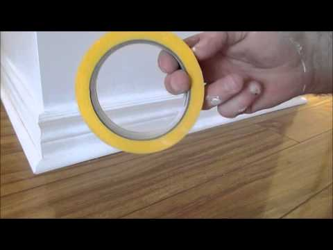 How to paint baseboard trim and walls