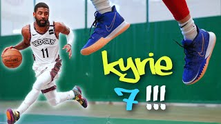 Nike Kyrie 7 Performance Review! | Testing the NEW Kyrie Irving Sneaker!