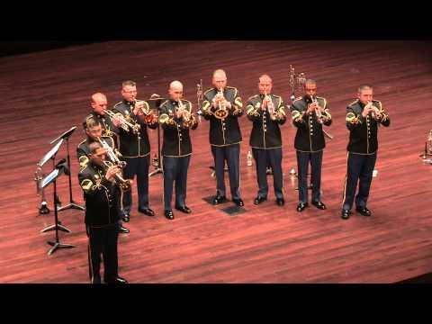 Army Band Trumpet Ensemble - America the Beautiful