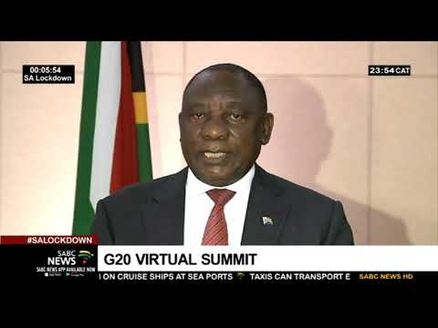 G20 leaders hold a virtual conference on how to curb COVID-19 virus