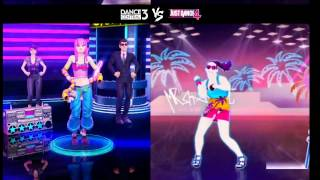 Dance Central 3 VS Just Dance 4 - Mr Saxobeat