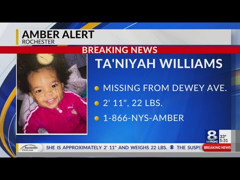 Amber Alert Issued F