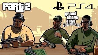 Grand Theft Auto San Andreas PS4 Gameplay Walkthrough Part  2 DRIVE-THRU (GTA San Andreas PS4)