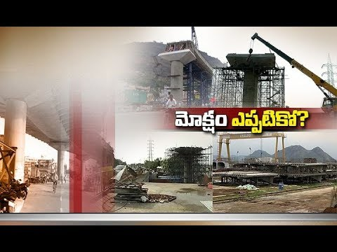 Snail Paced Flyover Works at Kanakadurga Temple | Creating Horrific Situation | at Vijayawada