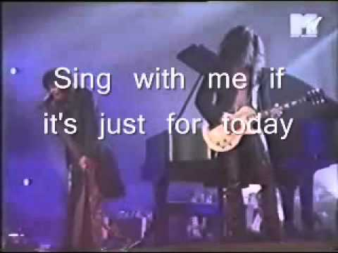 AEROSMITH - Dream On with lyrics official live music video