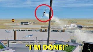 Flight Sim's Most STRESSFUL Job (Part 2) - ATC in Flight Simulator X