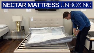 Unboxing The New Nectar Mattress 2018 Reviews