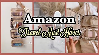 TikTok Compilation    Amazon Travel Must Haves with Links! On The Go Essentials!