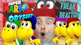 SUPER MARIO ODYSSEY SPECIAL: Domtendo reacts to Koopa-Freerunning Freaks