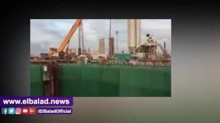 ننفرد برصد التشغيل التجريبي لماكينة حفر النفق الشمالي لأنفاق بورسعيد.. فيديو