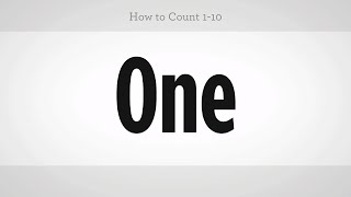 How to Count to 10 | Mandarin Chinese