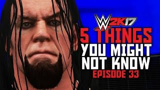 WWE 2K17 - 5 Things You Might Not Know! #33 (Unique Breakouts, Tag Partner Submission & More)