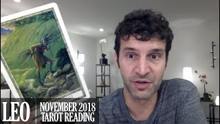 Leo November 2018 Extended Monthly Intuitive Tarot Reading By Nicholas Ashbaugh