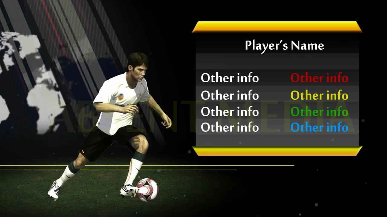 Soccer Player Analysis Template