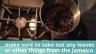 How To Make Agua De Jamaica