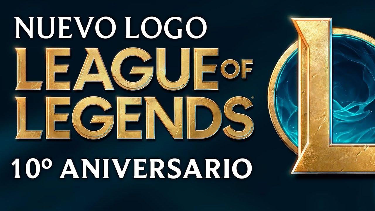 Nuevo Logo Información 10º Aniversario De League Of Legends