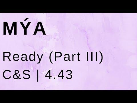 Mýa Ready (Part III - 90's Bedroom Mix) (C&S)