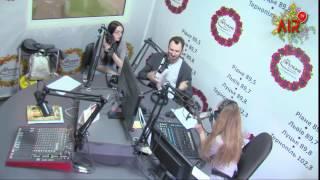 Єгор Грушин на радіо FM Галичина