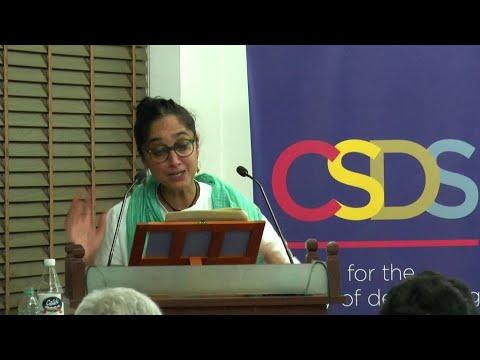 Leela Gandhi at CSDS, 20th B.N.Ganguli Memorial Lecture