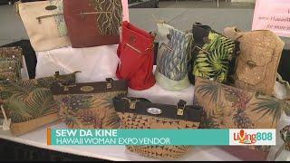 Hawaii Woman Expo vendor creates innovative bags and purses with cork