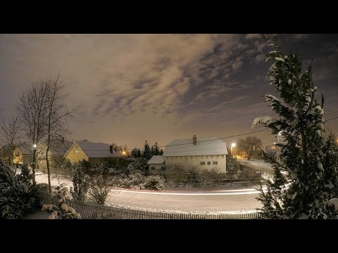 Winter Time-Lapse - Debrecen