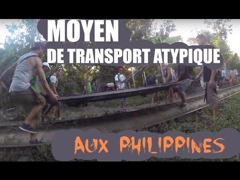 MOYEN de TRANSPORT ATYPIQUE aux PHILIPPINES