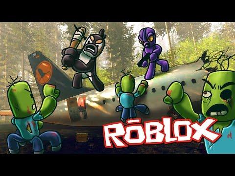 Roblox Movie | PLANE CRASH - ULTIMATE ISLAND SURVIVAL! (Roblox Adventures)