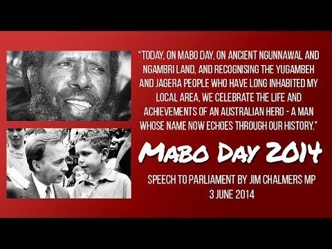 Eddie mabo speech