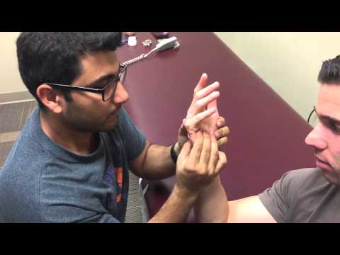 Taping - Dorsal Glide to 5th Metacarpal