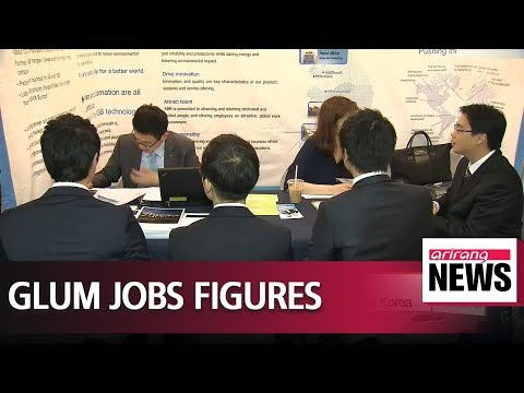 No. of newly added jobs in Korea at the 100-thousand mark for three consecutive months