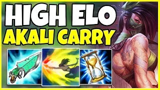 HOW TO CARRY AS AKALI IN HIGH ELO (WIN EVERY GAME) - League of Legends