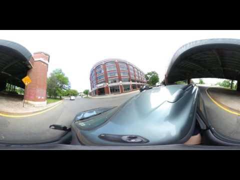 360 VR Timelapse Beth Israel Deaconess Medical Center (BIDMC) to Cambridge