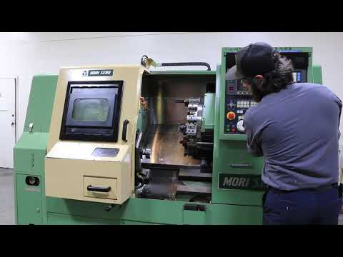 Mori Seiki SL-15MC CNC Turning Center With Live Milling