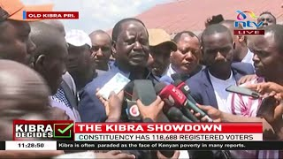 Protect our bedroom, Raila tells supporters in Kibra || #KibraByelection