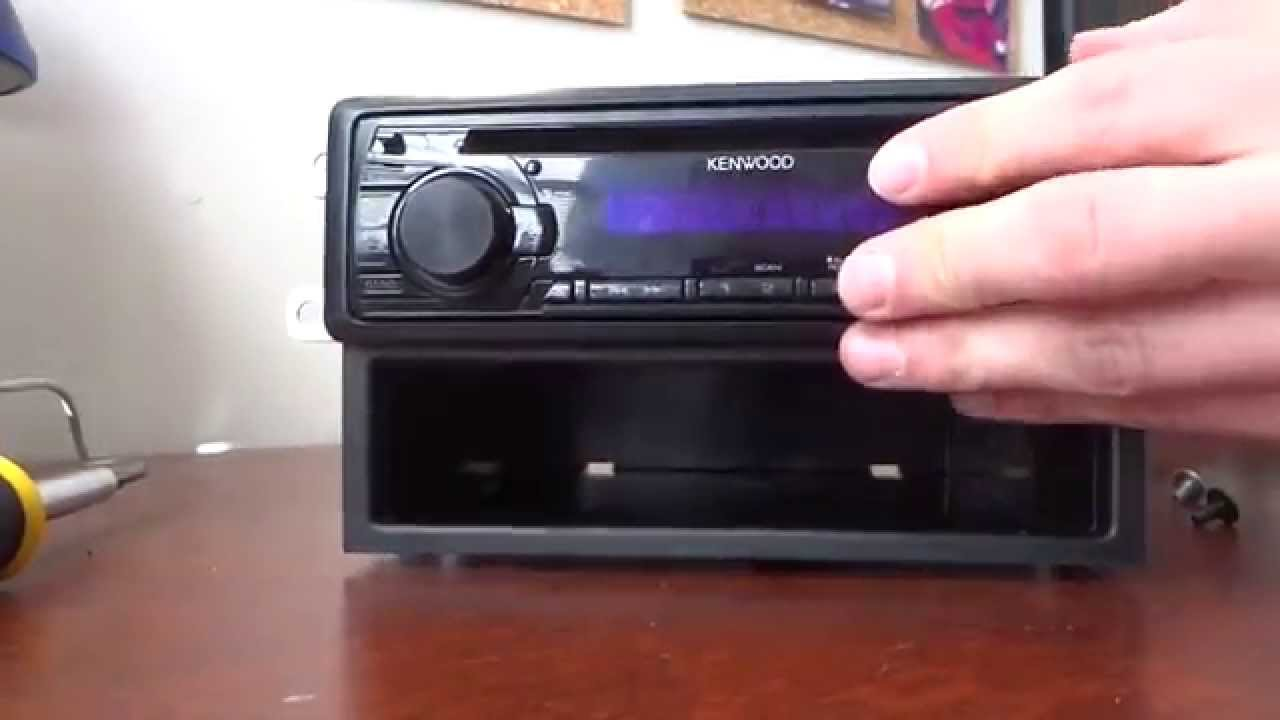 How to Install A New Car Stereo Receiver For A 2006 Subaru Impreza ...