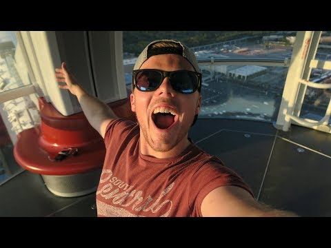 PRIVATE POD ON THE LAS VEGAS HIGH ROLLER