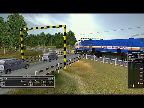 11401/Mumbai CST-Nagpur Nandigram Express MSTS Open Rails
