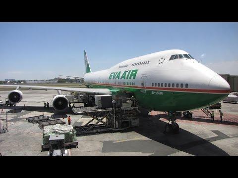 [Flight Report] EVA AIR | Taipei ✈ Manila | Boeing 747-400 | Economy