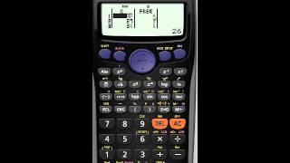 82-Casio fx İstatistik Modunu kullanarak AU