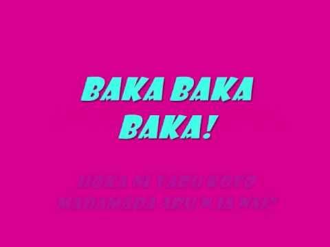 Triple Baka! Lyrics [Vocaloid]