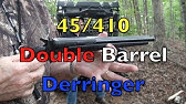 First Shots with Cobray DD 45/410 Derringer - YouTube